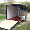 justin's trailer again... lookin good! the white paint helps a ton!