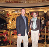 In front of the Golden Dragon at one of the many casinos