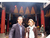 In front of the famous A-Ma Temple