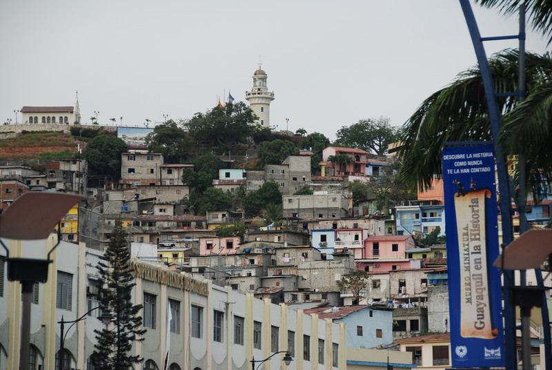 A tour of Guayaquil, Ecuador before we leave for Peru.