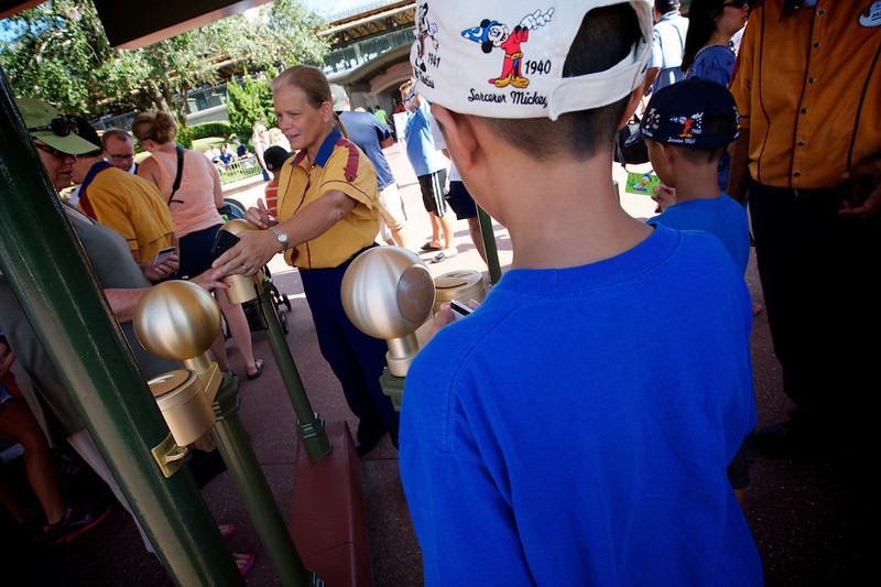 While being in Orlando, we took the opportunity to visit a couple of the Disney World Parks
