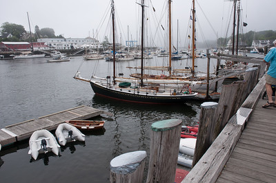 DSC_0206 The Schooner Surprise in Camden Harbor, Maine.