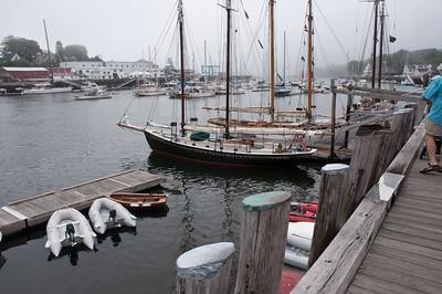 DSC_0206 The Schooner Surprise in Camden Harbor, Maine.