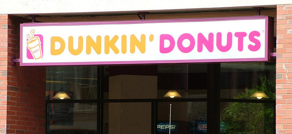 Portland - Walking around - Go Dunkin Donuts!