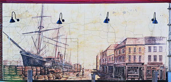 Portland Docks Mural