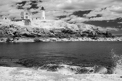 Nubble Lighthouse, Infrared