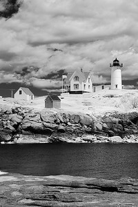 Nubble Lighthouse Infrared 2