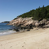 We spent the next 2 1/2 days visiting Acadia National Park which was spectacular.  Here is the popular Sand Beach, early in the morning.