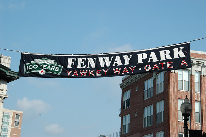 Day 8 - 1 Fenway Park
