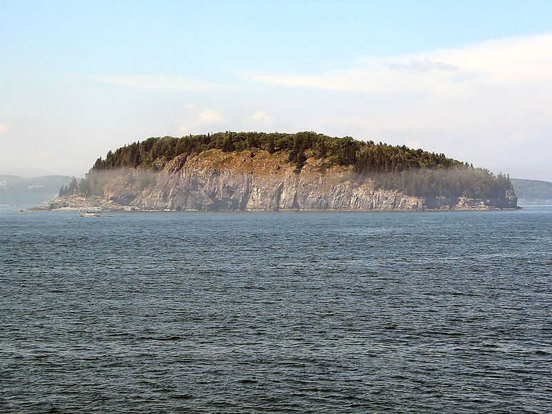 One of the Porcupine Islands