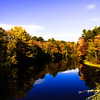 Fall Foliage on the Stroudwater River Windham, Me