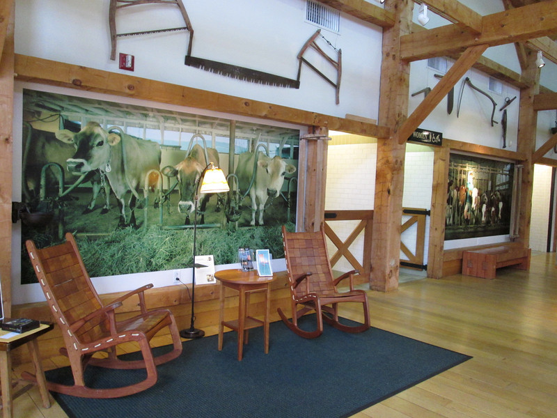 The Vermont Visitor Center in Guildford, just over the state line from Massachusetts, off Rt 91