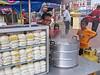 Bun cart in Kota Bharu