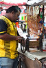 Cuttlefish stall in Kota Bharu