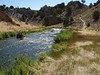 Hot Creek Fishing River