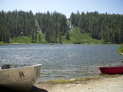 The upper of Twin lakes