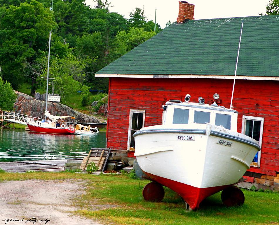 Killarney waterfront, Killarney, Ontario