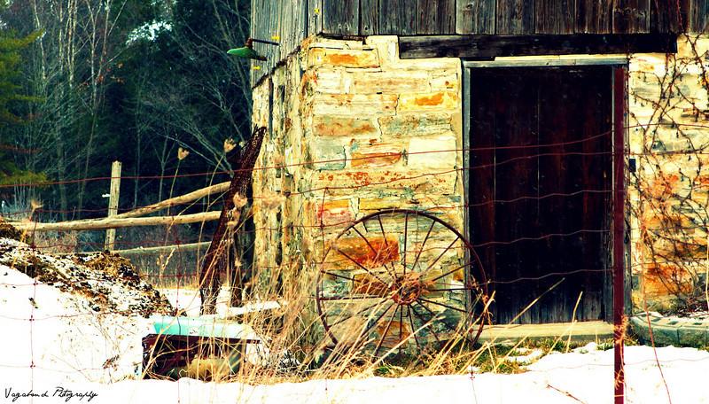 Delta area barn, Ontario