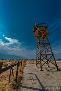 The Japanese internment camp at Manzanar