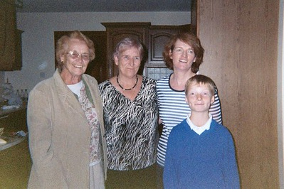 Mom, Nora and Margaret, and Declan