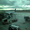 It was wet and gloomy when we left San Jose.