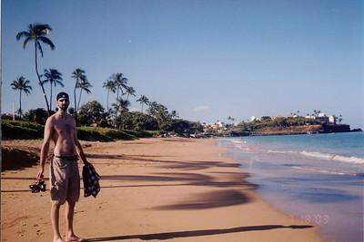 Maui, Hawaii - Honeymoon - July 2003