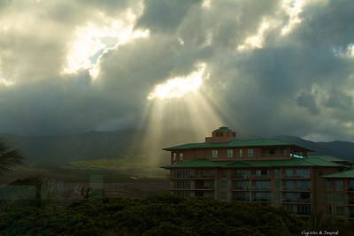 The spotlight in the sky