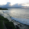 The view from our backyard in Paia.
