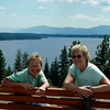 Sisters at Overlook Point.