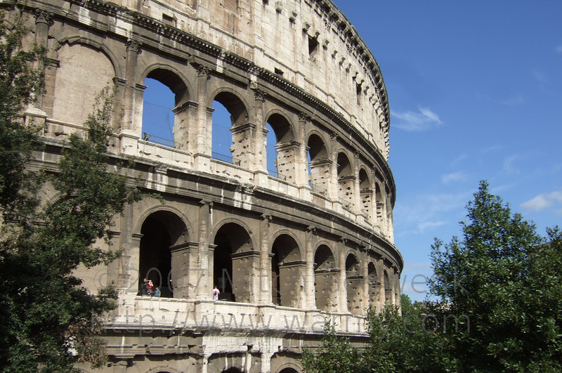 In and around Roma before the cruise