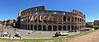 Today was a whirlwind tour of Rome.  The weather was fantastic.  Here is our first stop - at the Coliseum with a panorama of the exterior.  I climbed up a little hill for a great view and this panorama with my iPhone.