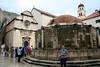 Dubrovnik Croatia - the Big Onofrio's Fountain