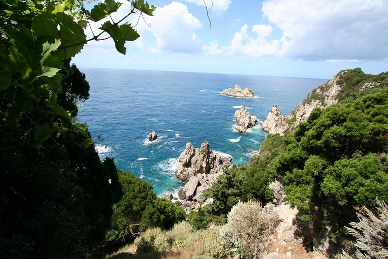 Corfu - Paleokastritsa area