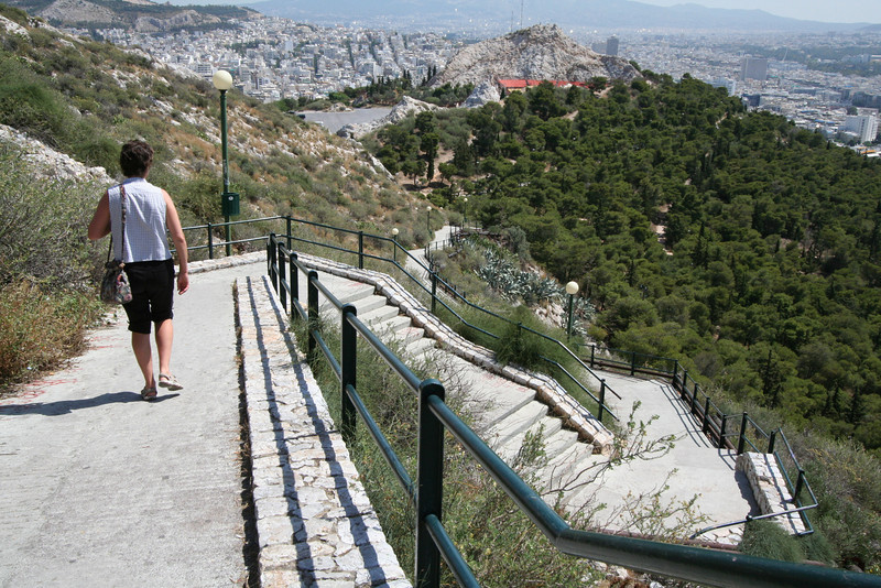 The tallest point in Athens - Lycabettus Hill