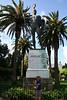 Corfu - Achilleion Palace - Achilles Triumphant statue
