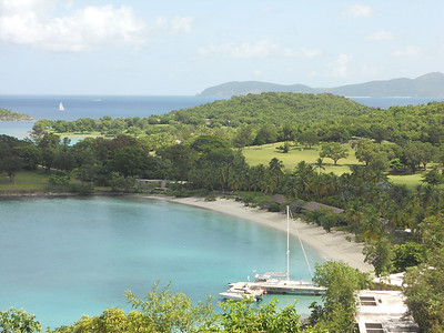 View of Caneel Bay..St. John