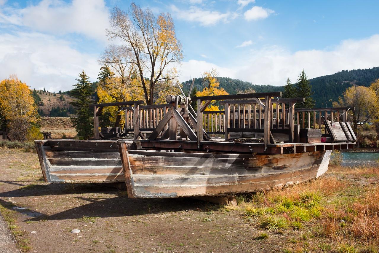 Menor's Ferry Moose WY