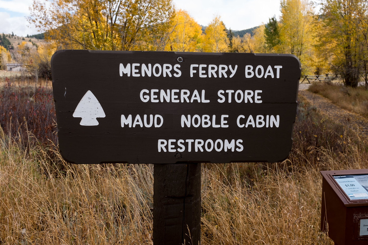 Menor's Ferry Moose WY