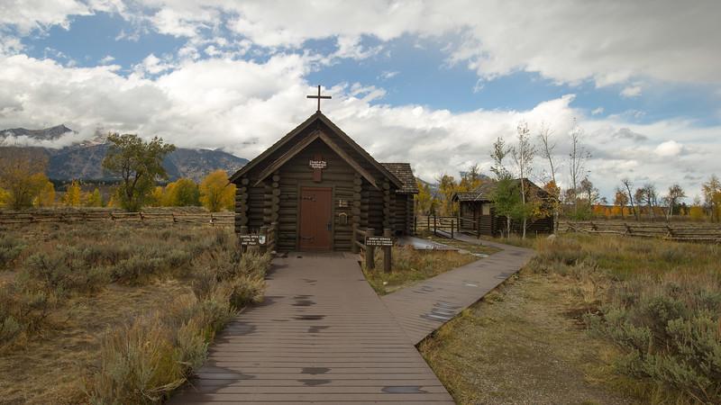 Chapel of the Transfiguration  Grand Teton National Park