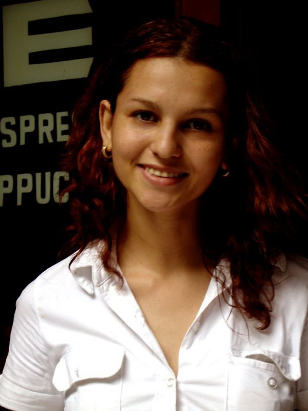 Graciela, a local waitress
