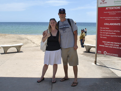 Josh and Nancy in Puerto Vallarta