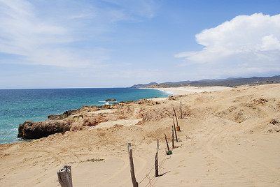 Pacific side of Baja California sur