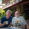Mike and Bill Anderson.  We've been good friends with Bill and his wife for over twenty of the thirty-five years we've been going to Mexico.