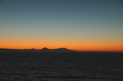 Just before sunrise north of Cabo San Lucas, Mexico.