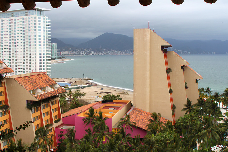 The view from our balcony at the Westin Puerta Vallarta.