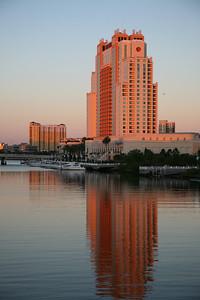 This is the nice hotel we stayed at down in Tampa.