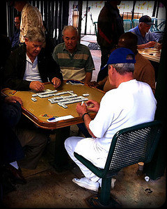 A domino park in Little Havana. I couldn't believe there was no smoking allowed! This was smack dab in the middle of cigar country!