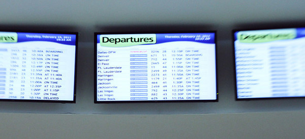 Flight 2459 - On Time!