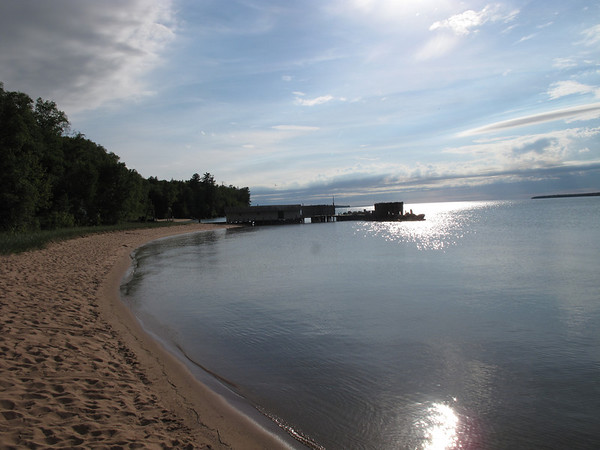 "Little Sand Bay, Lake Superior,Wisconsin,June 2010<br /> ""The Bay at dusk"""