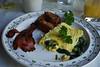 My delicious (half-eaten) breakfast!